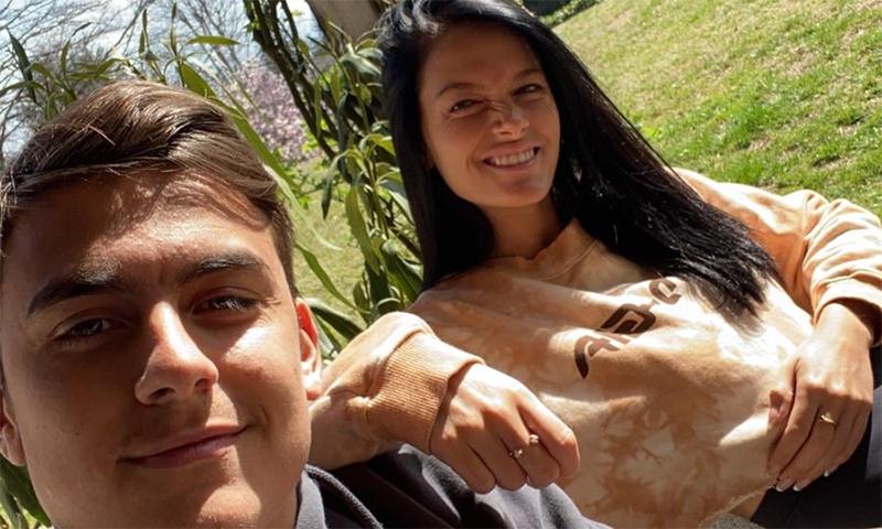 ارجنٹائن کے فٹبالر دیبالا اور گرل فرینڈ کورونا وائرس کا شکار