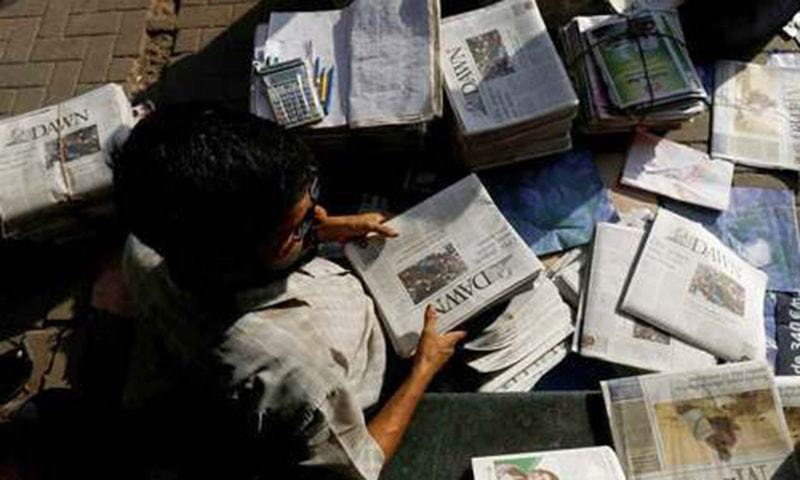Hawkers, media persons declared essential personnel by Sindh govt. — Reuters/File