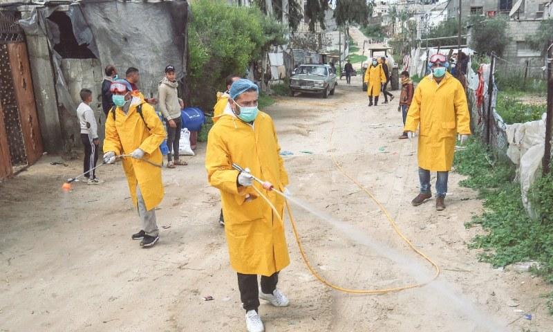غزہ: پاکستان کا سفر کرنیوالے 2 فلسطینی کورونا وائرس سے متاثر