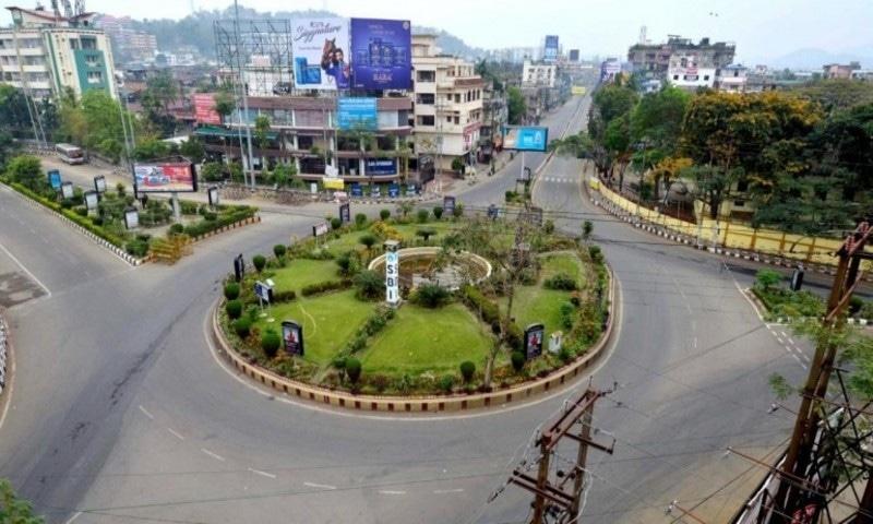 بھارت کی 20 ریاستوں کے 75 اضلاع میں لاک ڈاؤن