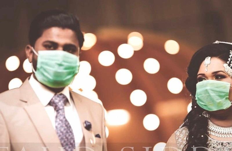 کورونا وائرس: پاکستان میں دلہن ماسک کی مانگ بڑھ گئی