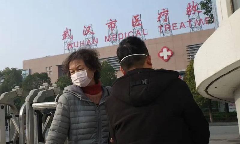 وائرس کے مرکز ووہان سے تقریباً ایک ہفتے تک کوئی نیا کیس سامنے نہ آنے کے بعد پہلا نیا کیس سامنے آگیا — فائل فوٹو:اے ایف پی