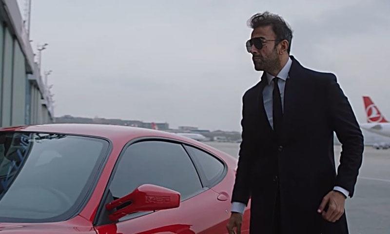 فلم میں شان نے مرکزی کردار نبھایا ، فوٹو: اسکرین شاٹ