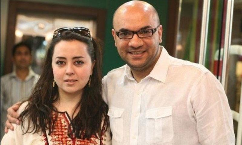 ڈیزائنر ماریہ بی اور شوہر طاہر سعید — فوٹو: انسٹاگرام