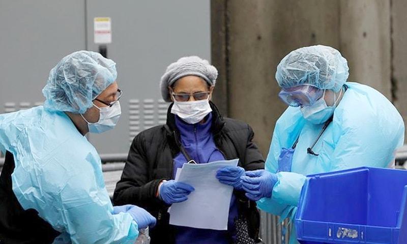 امریکا میں کورونا وائرس سے 42 ہزار سے زائد افراد متاثر اور 559 ہلاک ہوچکے ہیں — فوٹو: رائٹرز