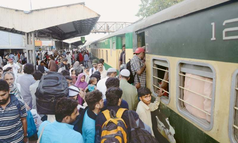 Operation of all passenger trains suspended