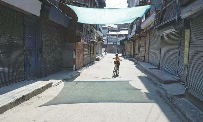آزاد جموں و کشمیر میں لاک ڈاؤن کو یقینی بنانے کیلئے سخت اقدامات