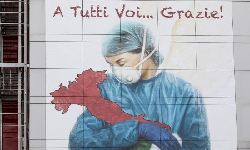کورونا میں مبتلا ہونے کے بعد اٹلی کی نرس نے خودکشی کرلی