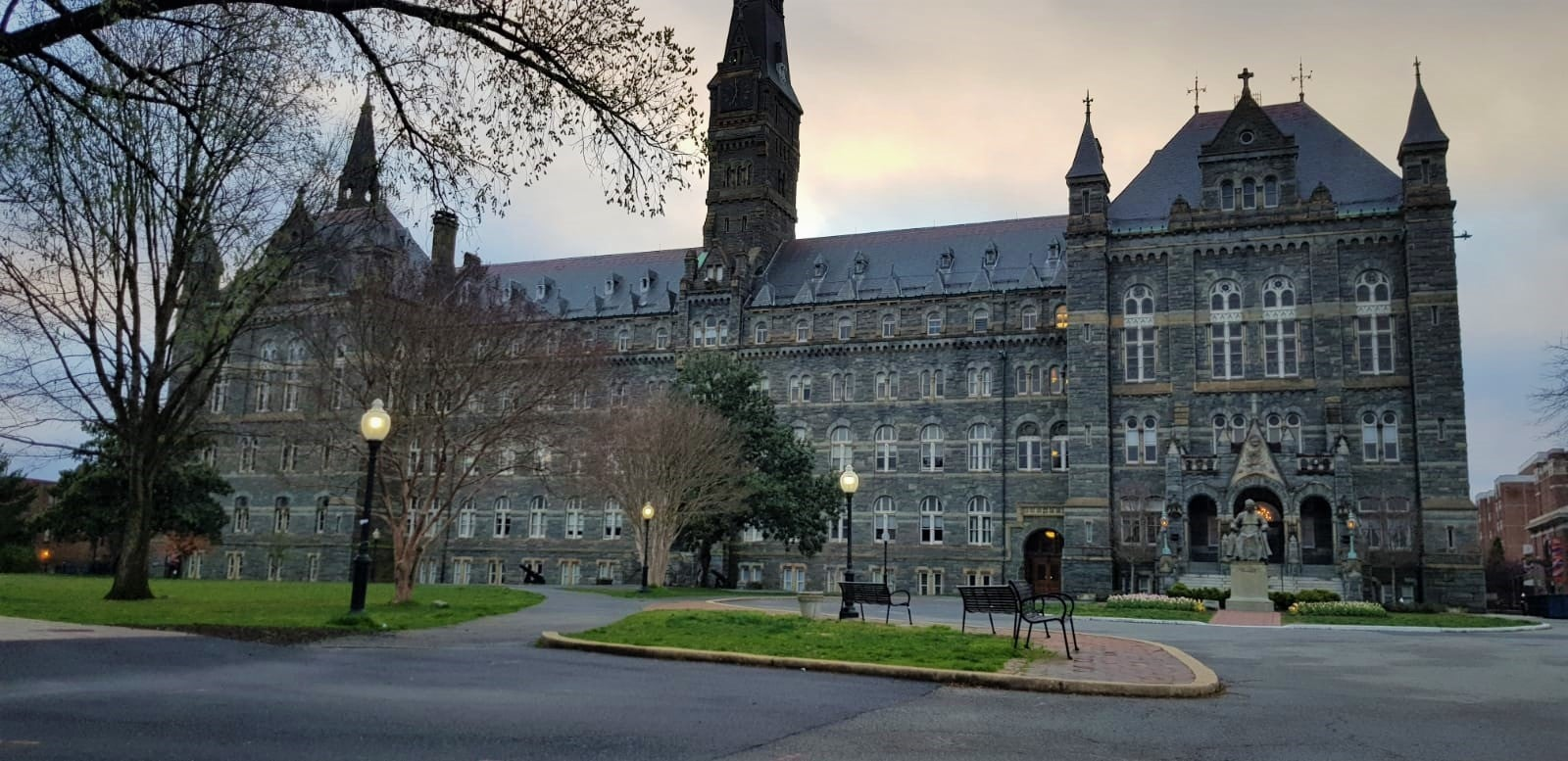 Georgetown University's main campus. - Picture by Askari Hasan