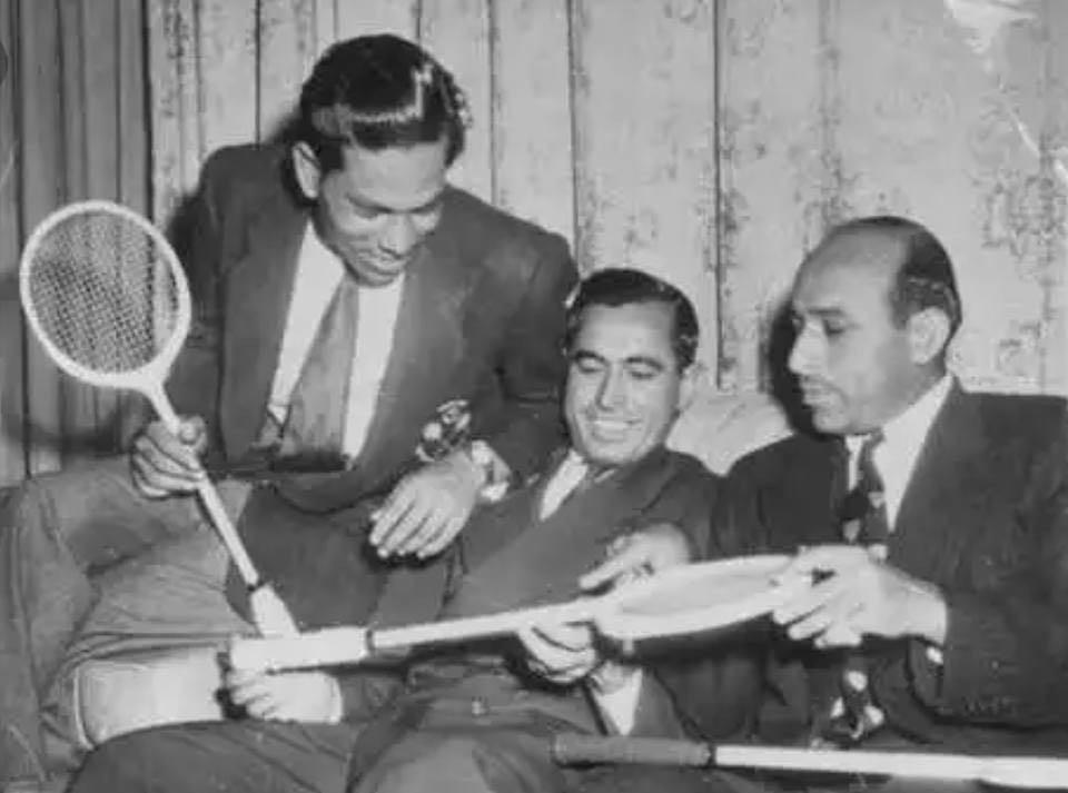 (L-R) Roshan Khan, Azam Khan and Hashim Khan. — Photo courtesy Jahangir Khan