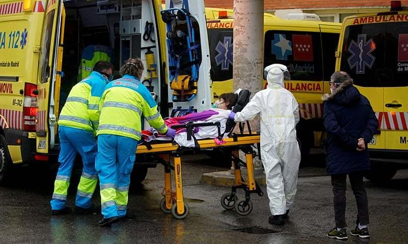 دنیا بھر میں کورونا سے 36 ہزار اموات، ساڑھے 7 لاکھ افراد متاثر