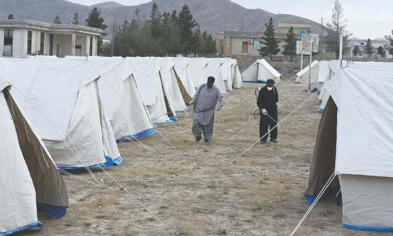 Arrangements for further establishing quarantine centres discussed. — AFP/File