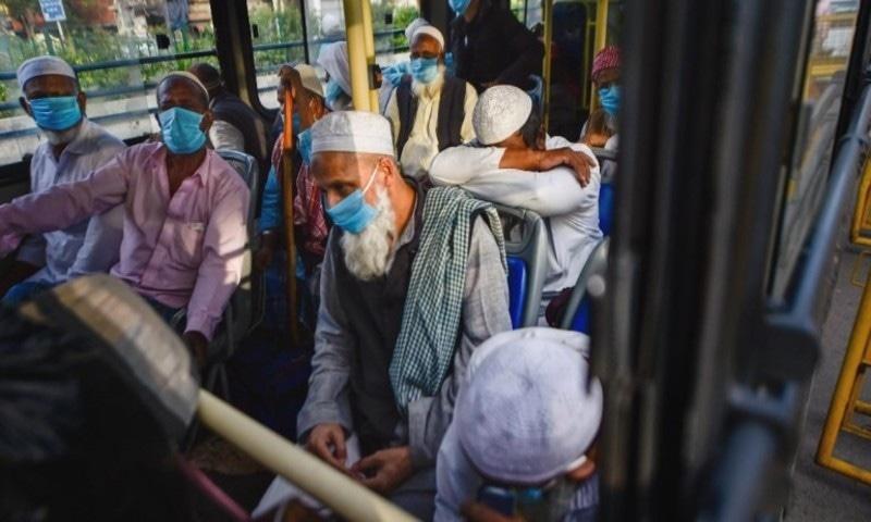 بھارت: تبلیغی جماعت میں شرکت والے 27 افراد میں کورونا کی تشخیص، 7 ہلاک