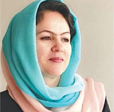 AFGHAN lawmaker Fawzia Koofi.
