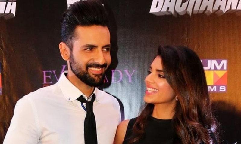 اداکارہ صنم سعید اور اداکار محب مرزا — فوٹو: انسٹاگرام