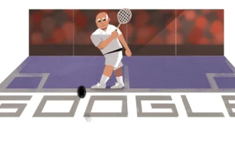 گوگل نے ہاشم خان کو ڈوڈل کے ذریعے کراج تحسین پیش کیا— اسکرین شاٹ
