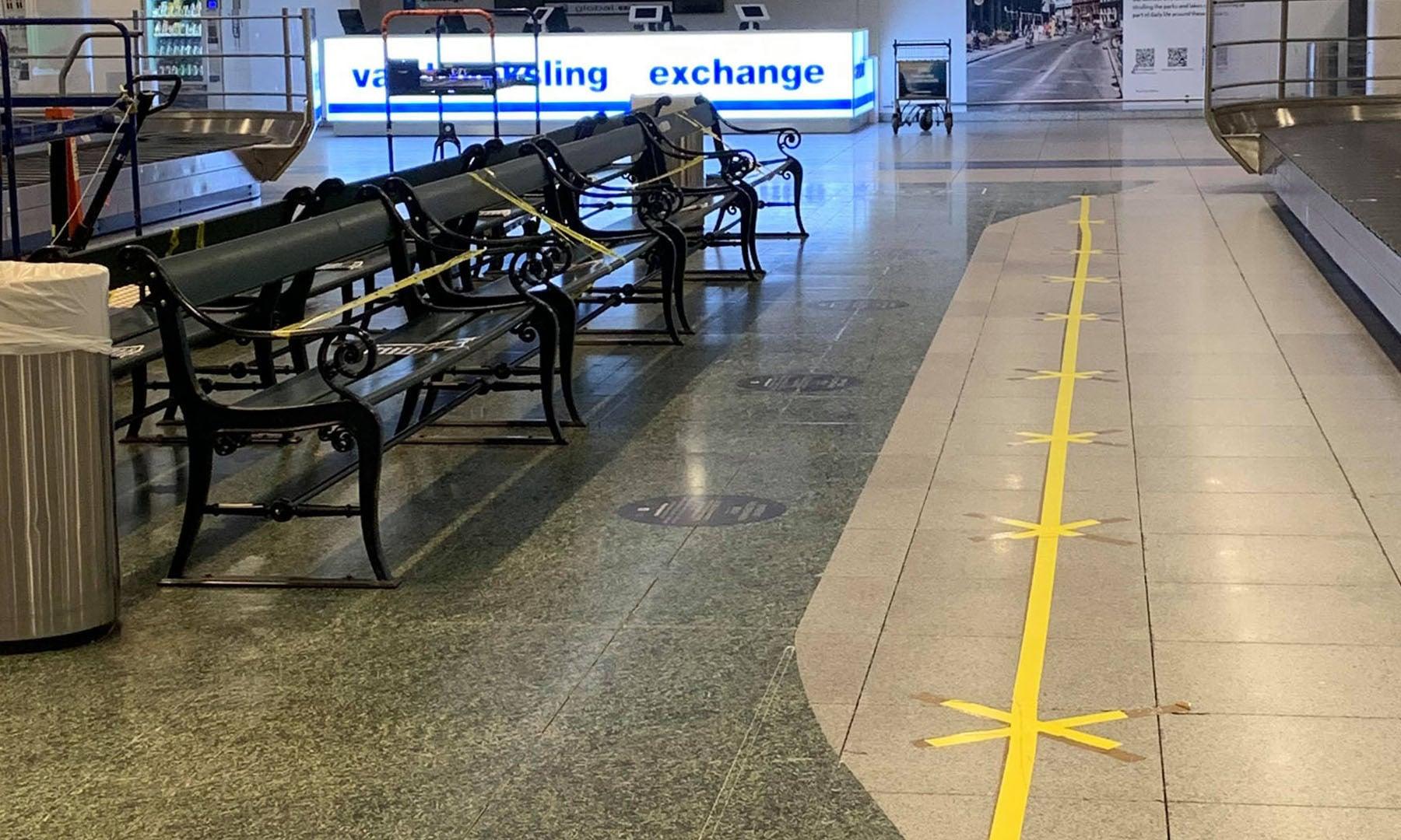 ایئرپورٹ پر فرشی پٹیاں— ذیشان جعفری