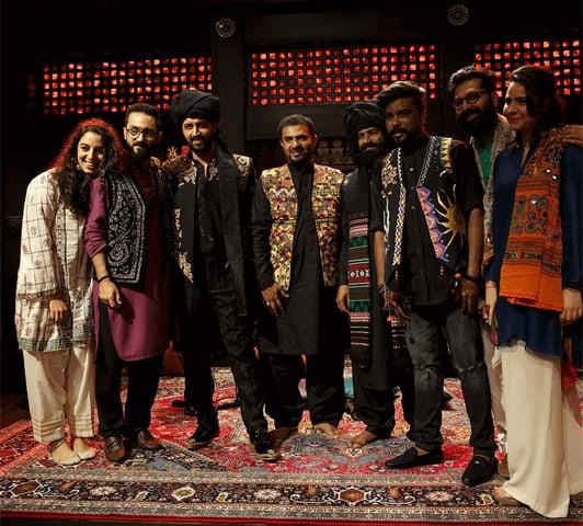 After recording the hamd, Wohi Khuda Hai, from last year's Coke Studio