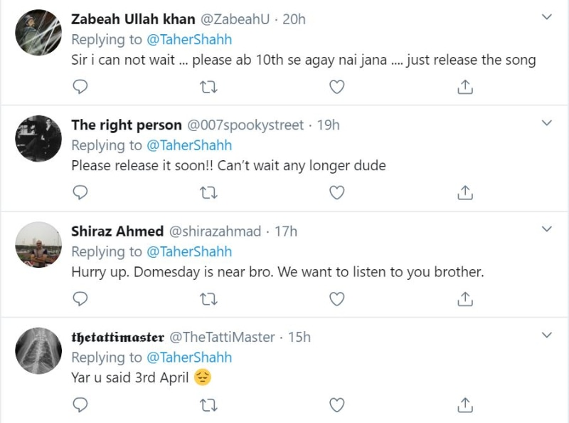 foto de Taher Shah's latest track postponed once again and people are heartbroken Music Images