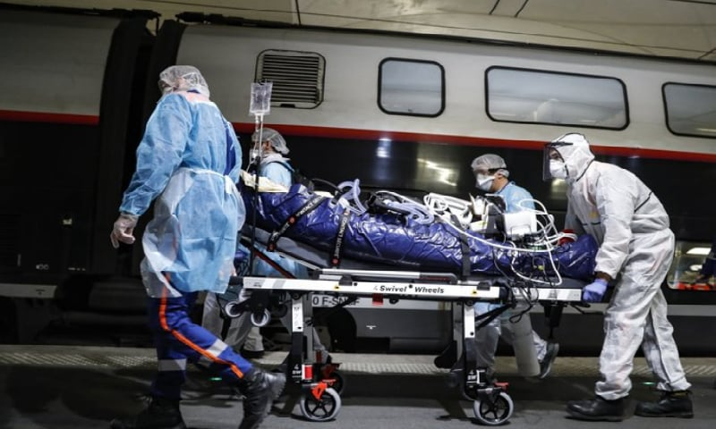 France turns to speedy trains to catch up in virus response