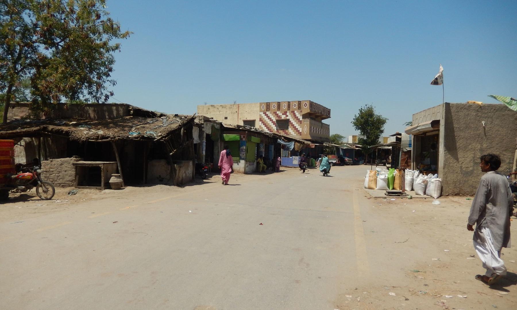 سیرانی کی ایک سڑک کا منظر