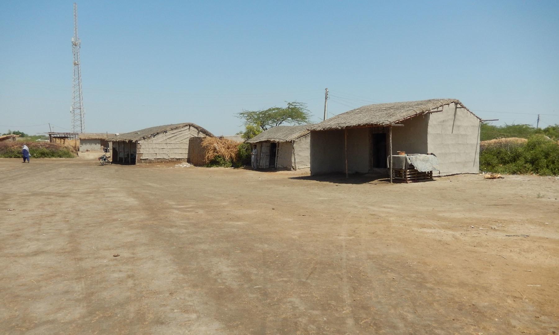 بھگڑا میمن نامی گاؤں کا ایک منظر