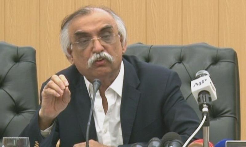 FBR chairman Shabbar Zaidi. — DawnNewsTV/File