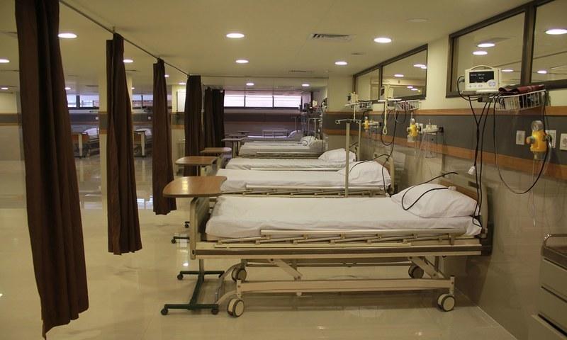 کراچی کے 6 ہسپتالوں میں 104 بستروں پر مشتمل آئی سی یو قائم کرنے کی ہدایت