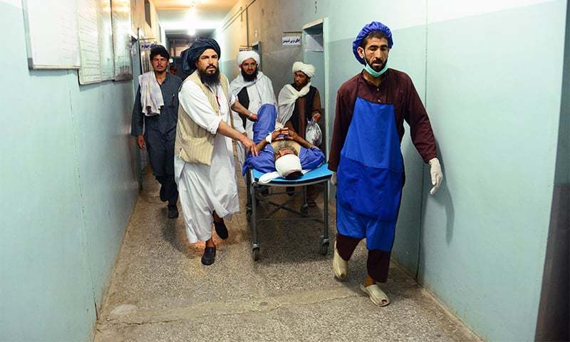 Students of medicine in Nangarhar have been stranded in Afghanistan for 25 days. — AFP/File