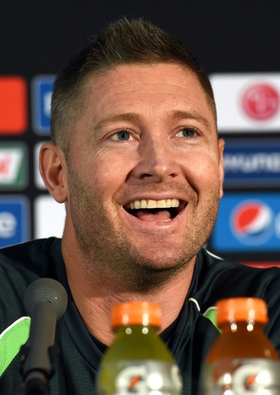"Former Australian cricket captain Michael Clarke said players were afraid to ""sledge"" Indian skipper Virat Kohli because they didn't want to risk lucrative IPL contracts. — AFP"