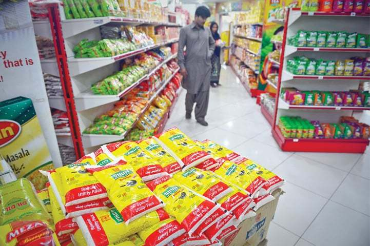 Utility stores have registered a record sale of Rs2.30bn during the first four days of this month. — Dawn/File