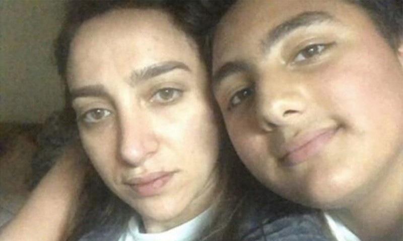 اردن کی ایمان الخطیب نے کچھ دن قبل گھریلو تشدد کا نشانہ بنائے جانے کی ویڈیو سوشل میڈیا پر شیئر کی تھی—فوٹو: گلف نیوز