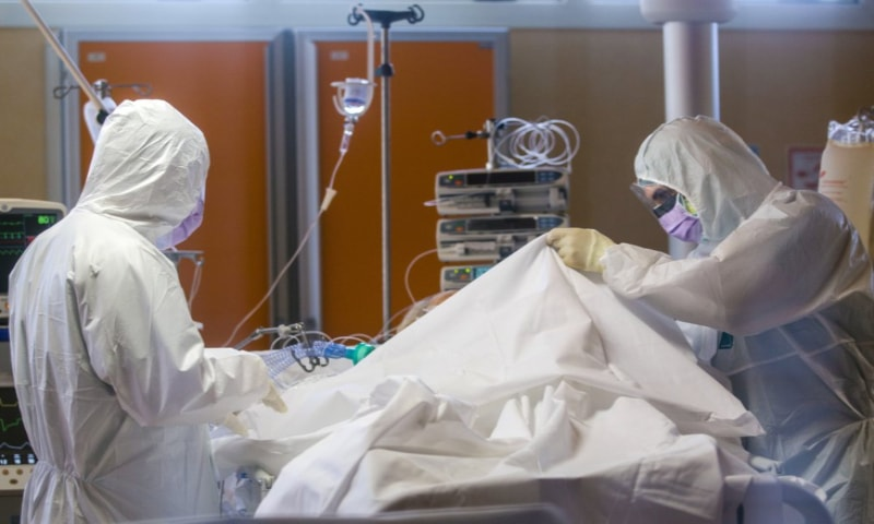 Italy, Spain ICU pressures decline but emotional toll rises