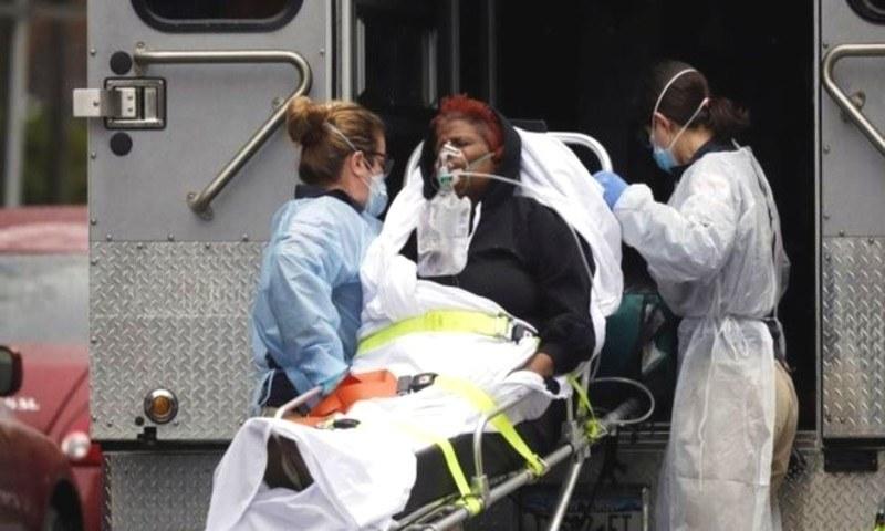 کورونا وائرس: امریکا میں ایک ہی دن میں ریکارڈ 1800 سے زائد ہلاکتیں
