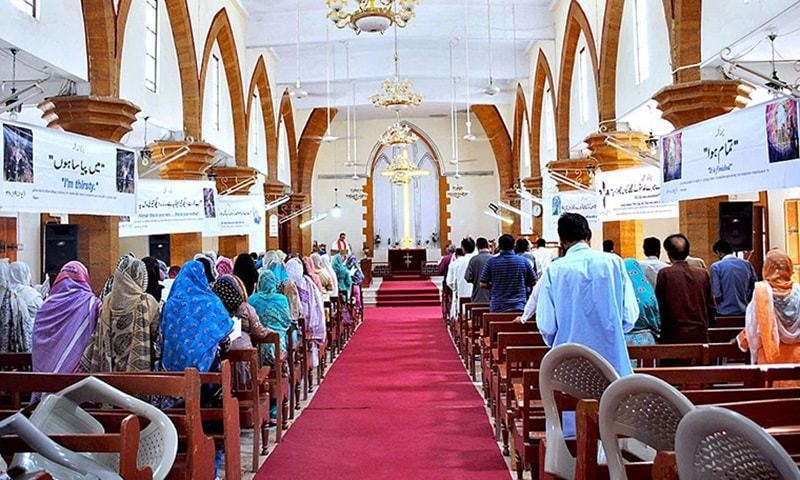 If deemed necessary on medical grounds, restriction on number of people offering prayers and congregation at worship places including churches could be placed, the notification said.— APP/File