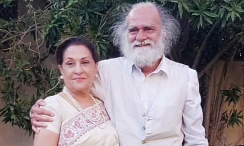 دونوں نے لاہور میں شادی کی — فوٹو: فیس بک