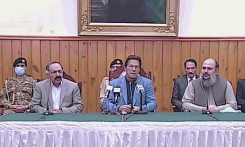 لاک ڈاؤن میں کن چیزوں میں نرمی کرنی ہے یہ فیصلہ صوبوں کا ہوگا،عمران خان