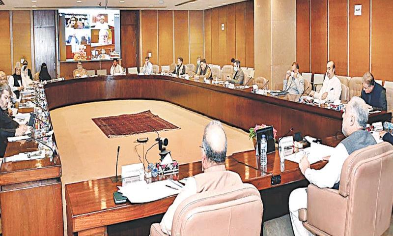 Parliamentary panel on coronavirus holds meeting — APP/File