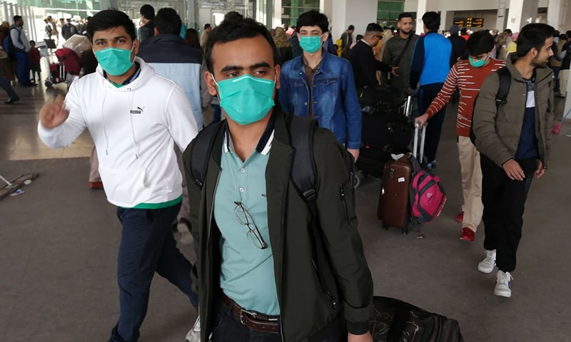 Pakistani students in Wuhan emerge from lockdown, far from home and with psychological scars
