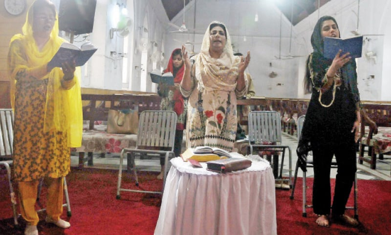 Christians observe Good Friday in their homes