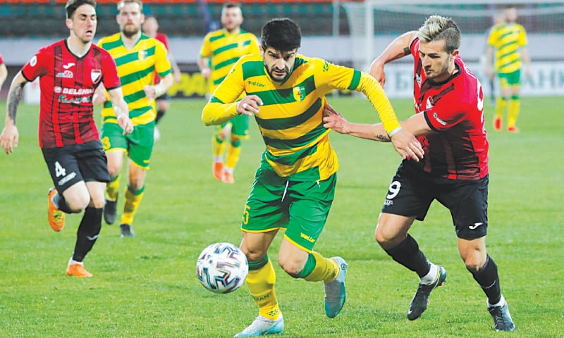 Belarus season continues amid virus anxiety and empty stands