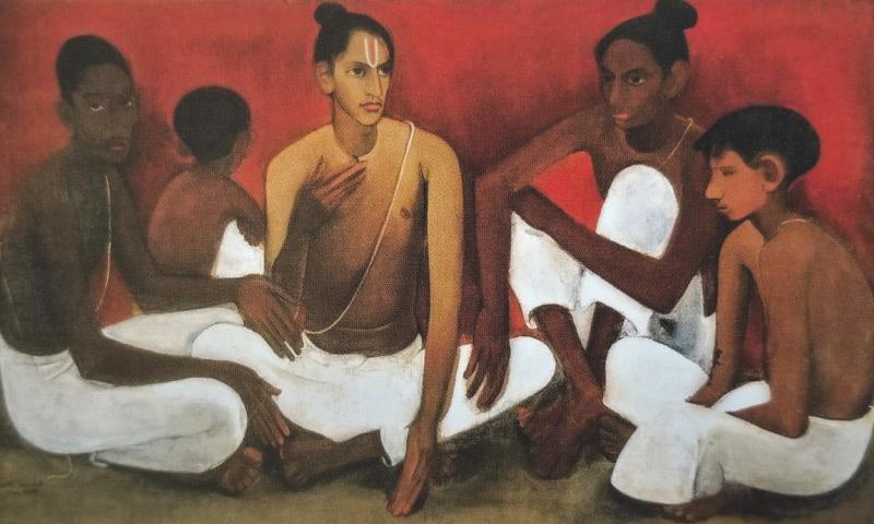Brahamacharis (1937), Amrita Sher-Gil