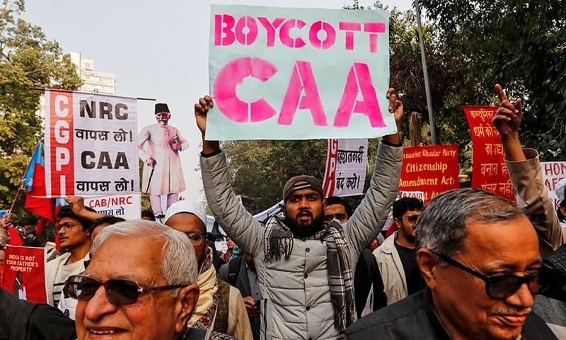 بھارت شہریت قانون کو منسوخ کرے، ہیومن رائٹس واچ کا مطالبہ