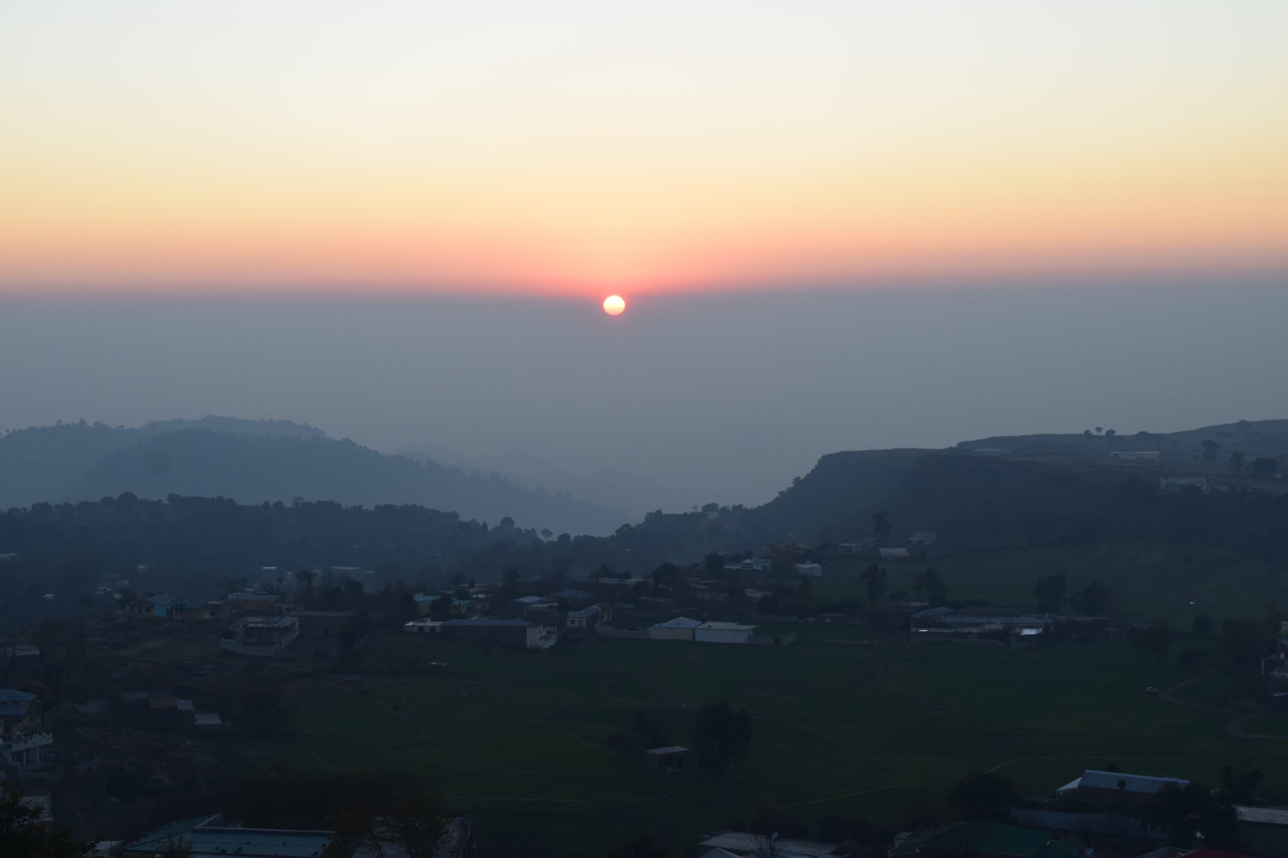 Sunset at Karor.