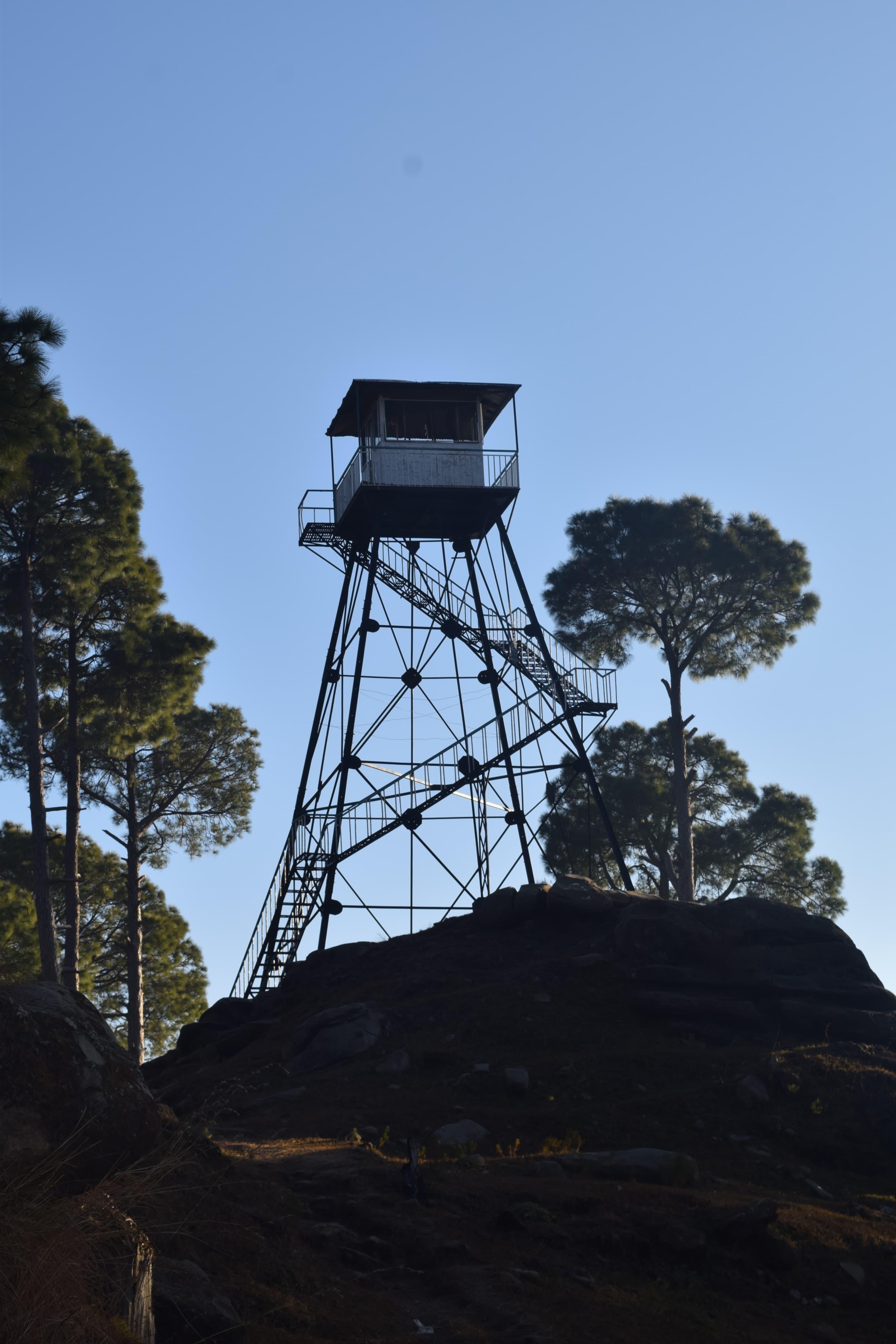 The fire tower at Arirari.