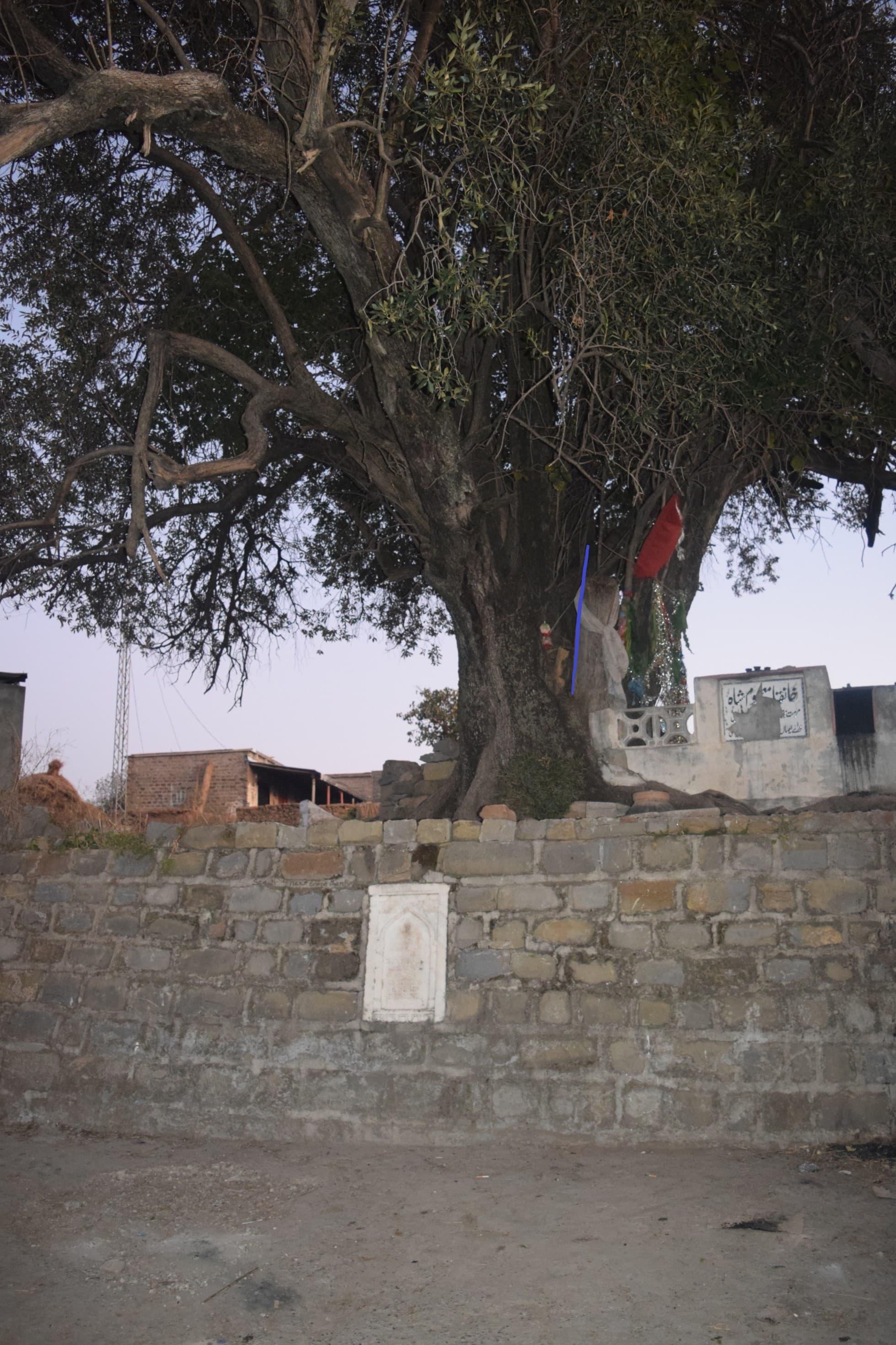 The World War I plaque at Karor.