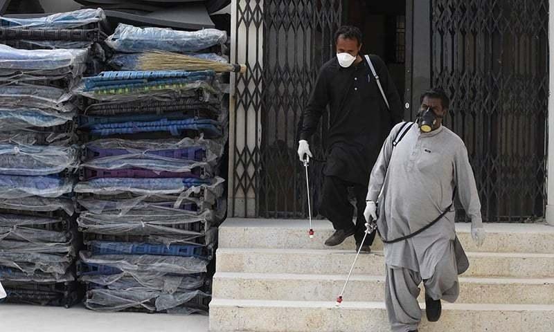 خیبرپختونخوا میں قرنطینہ مراکز کے فضلے سے وائرس کے پھیلاؤ کا خدشہ