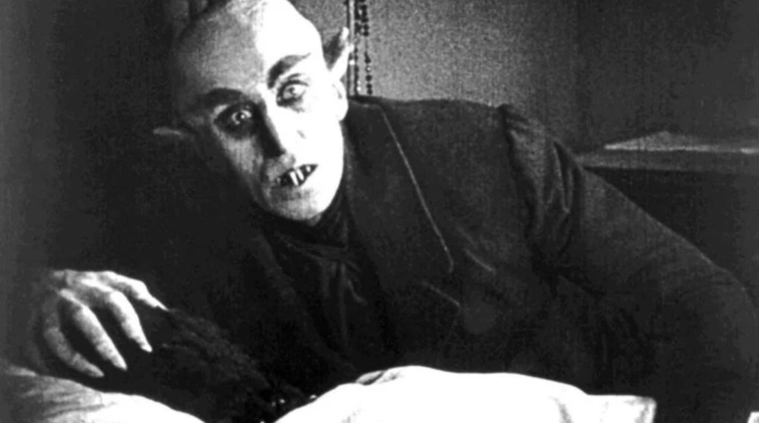 *Count Orlok in Nosferatu* (1922)
