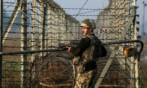"Director General of Inter-Services Public Relations (ISPR) Maj General Babar Iftikhar on Tuesday termed India's insinuation about infiltration and ceasefire violations (CFVs) ""baseless"". — Reuters/File"