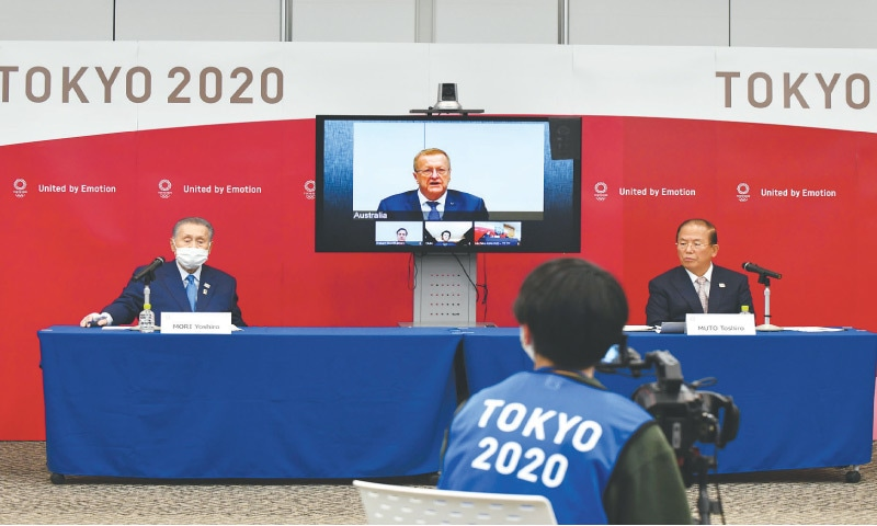 Tokyo Olympics could cut 'extras' in face of soaring costs